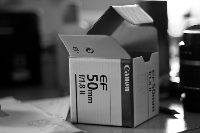 Canon EF 50mm 1.8 50mm