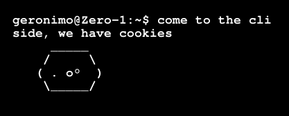 blog cli side Vimperator, come to the cli side, we have cookies