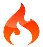 ci logo flame CodeIgniter, my personal ignition