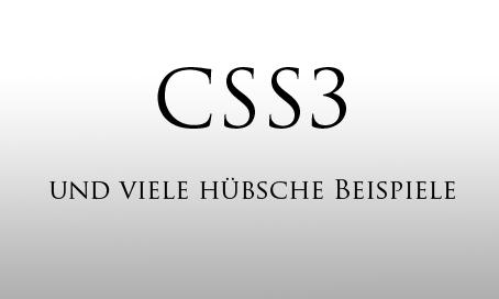 css3 CSS3