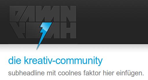 damnyeah header web waypoint: damnyeah.de