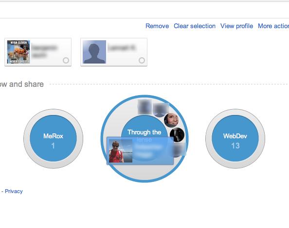 google plus circles Google+, ein erster Eindruck
