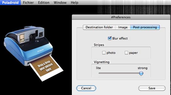 poladroid options Polaroids creation