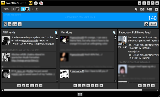 tweetdeck screenshot How to Twitter: Day #5 Tools