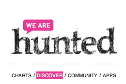 we are hunted logo we are hunted, a custom online radio