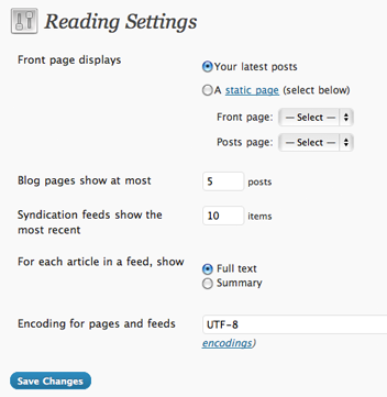 wp rss settings RSS reading and how to use it efficiently